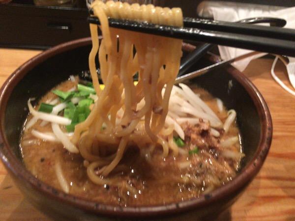 恵比寿ラーメンつなぎの麺