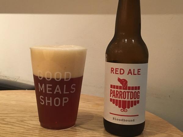 パロットドック ブラッドハウンド・レッドエール(Parrotdog Bloodhound Red Ale)