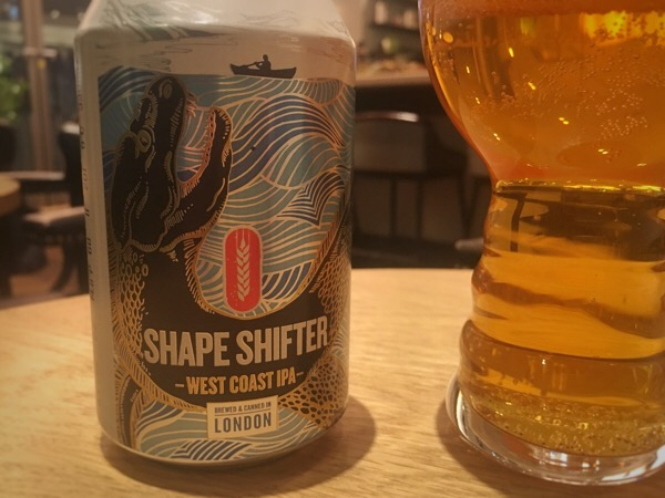 "Fourpure Brewing ""SHAPE SHIFTER WEST COAST IPA"""